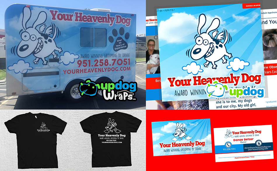 Branding Project Showcase of Your Heavenly Dog